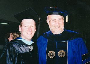 Jon and Dr. Lillis at Jon's Graduation from Seminary