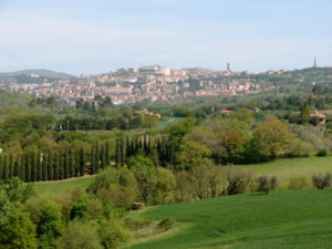 View of Perugia from our home