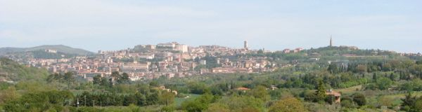 Perugia, seen from our house