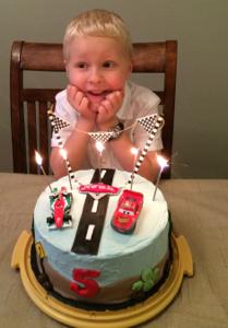 Noah's birthday joy