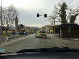 Entering Foligno