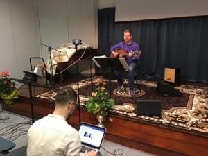 Worship leading on Streaming